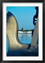 Framed Sculpture of an Anchor, USS Arizona Memorial, Pearl Harbor, Honolulu, Oahu, Hawaii