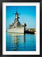 Framed USS Missouri, Pearl Harbor, Honolulu, Oahu, Hawaii