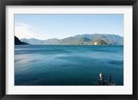 Framed Lake Como, Varenna, Lombardy, Italy
