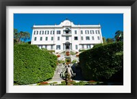 Framed Low angle view of a villa, Villa Carlotta, Tremezzo, Lake Como, Lombardy, Italy