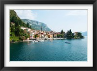 Framed Varenna, Lake Como, Lombardy, Italy
