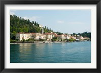 Framed Buildings in a Town at the Waterfront, Bellagio, Lake Como, Lombardy, Italy