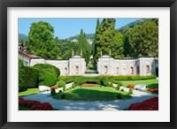 Framed Garden at Villa d'Este hotel, Cernobbio, Lake Como, Lombardy, Italy