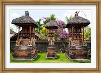 Framed Offering altars, Rejasa, Penebel, Bali, Indonesia