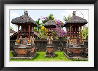 Framed Offering altars, Rejasa, Penebel, Bali, Indonesia