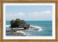 Framed Sea temple, Tanah Lot Temple, Tanah Lot, Bali, Indonesia