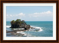 Framed Sea temple, Tanah Lot Temple, Tanah Lot, Bali, Indonesia
