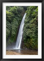 Framed Waterfall near Munduk, Gobleg, Banjar, Bali, Indonesia