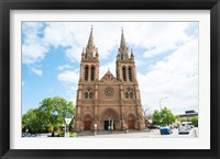 Framed Facade of a cathedral, St. Peter's Cathedral, Adelaide, South Australia, Australia
