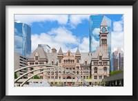 Framed Facade of a government building, Toronto Old City Hall, Toronto, Ontario, Canada