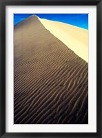 Framed Sand Dunes at Death Valley National Park, California