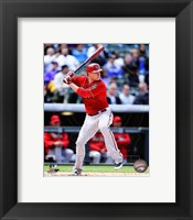 Framed Mark Trumbo 2014