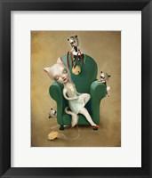 Framed Belling the Cat