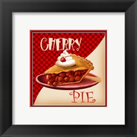 Framed Cherry Pie