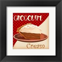 Framed Chocolate Cream Pie