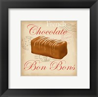 Framed French Chocolate Bonbons