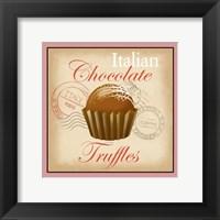 Framed Italian Chocolate Truffles