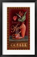 Framed Kona Coffee