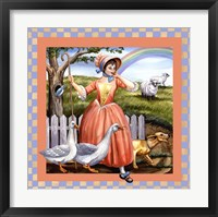 Framed Little Bo Peep