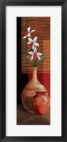 Framed Orchid Vase I