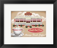 Framed South End Diner