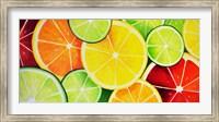 Framed Fruit Slices