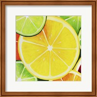 Framed Sliced Lemon