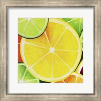 Framed Sliced Lemon