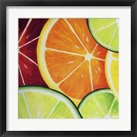 Framed Sliced Orange