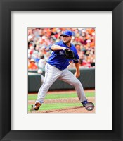 Framed Mark Buehrle 2014