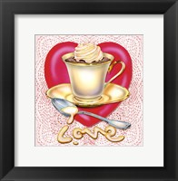 Framed Latte Love