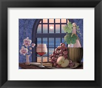 Framed Sunset Rose