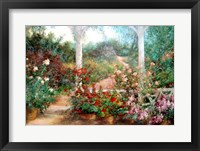 Framed Come To The Garden