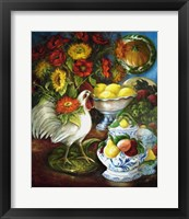 Framed Majolica Collection