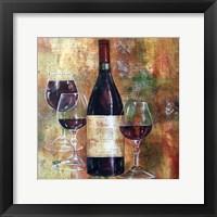 Framed Napa Valley Pinot