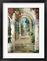 Framed Arched Entrance