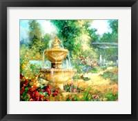 Framed Garden Fountain