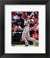 Framed Wil Myers 2014 Action