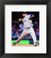Framed Felix Hernandez 2014 in Action