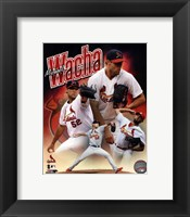 Framed Michael Wacha 2014 Portrait Plus