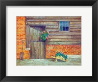 Framed Garden Shed