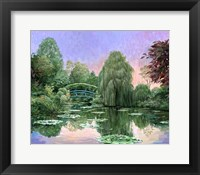 Framed Monet Garden V