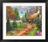 Framed Midsummer's Joy