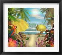 Framed Tropical Delight