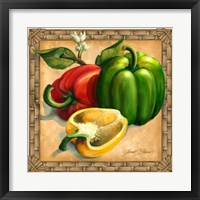Framed Bell Peppers