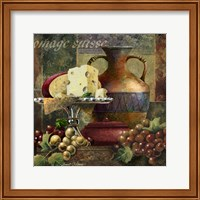 Framed Cheese & Grapes II