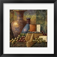 Framed Cheese & Grapes