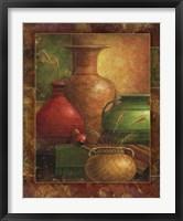 Earthen Vessels I Framed Print