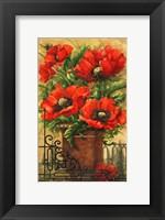 Framed Tuscan Bouquet I