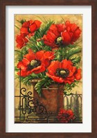 Framed Tuscan Bouquet I